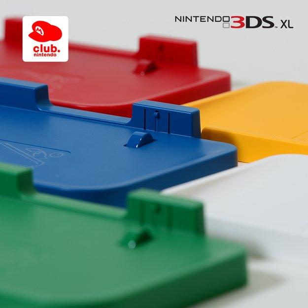 Nintendo Club: Farbige Ladestationen im Prämienkatalog verfügbar