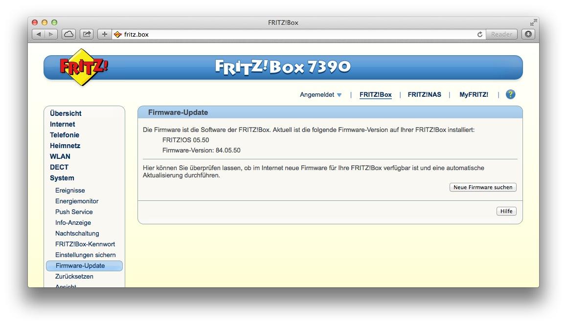 Wlan gastzugang an fritz box 7390 7490 7360 u a - Fritz box sl wlan ...