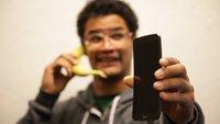 LG G Flex im Unboxing - Jetzt mit Banane