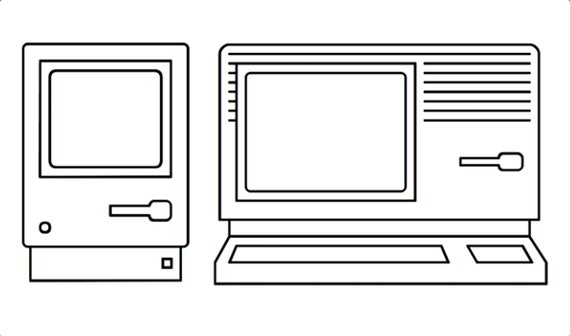 30 Jahre Mac: Historische Macs als Font nutzen