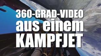 Erstes 360-Grad-Video aus dem Cockpit eines Kampfjets