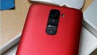 LG G2: Matt-rote Version des Topmodells auf Foto gesichtet