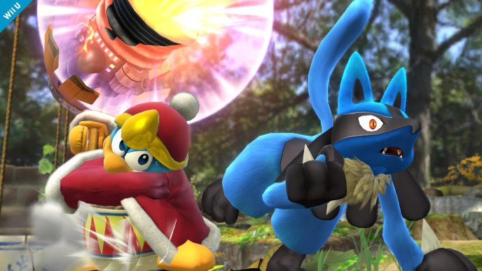 Lucario Super Smash Bros (1)