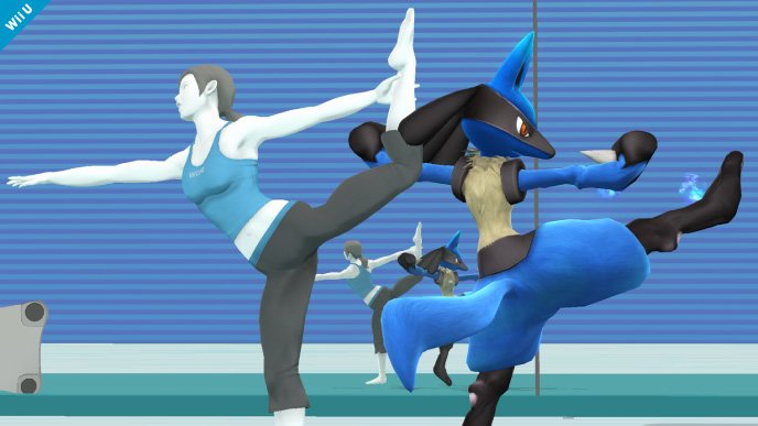 Lucario Super Smash Bros (2)
