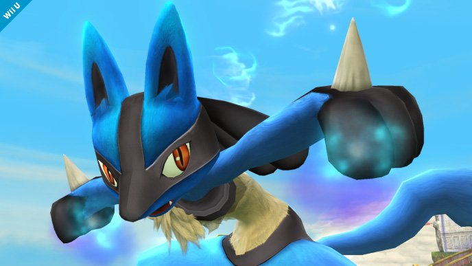 Lucario Super Smash Bros (4)