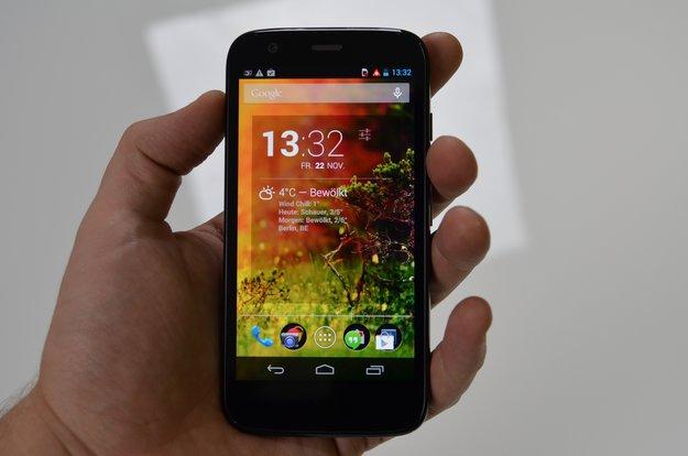 Moto G: LTE-Version mit microSD-Kartenslot angekündigt –ab Juli für 199 Euro