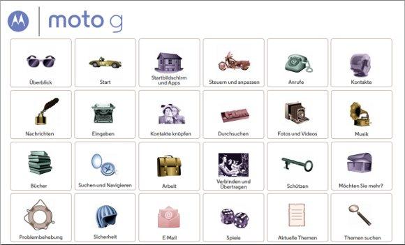 Motorola-Moto-G-Handbuch