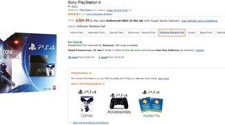 PS 4 Kaufen: PlayStation 4 Bundles wieder bei Amazon UK verfügbar