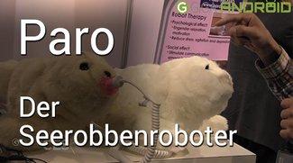 Paro: Der (gruselige) Seerobbenroboter für therapeutische Behandlung [CES]
