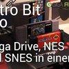 Retro Bit Trio: Sega Mega Drive, NES und SNES in einem Gerät! (CES 2014)