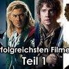 Die erfolgreichsten Filme 2013: Kritiker VS Publikum! (Teil 1)