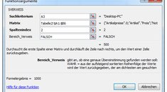 Die SVerweis-Funktion in Microsoft Excel verwenden - Anleitung