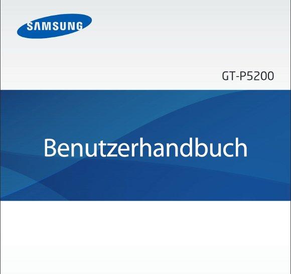 Samsung Galaxy Tab 3 Handbuch Cover