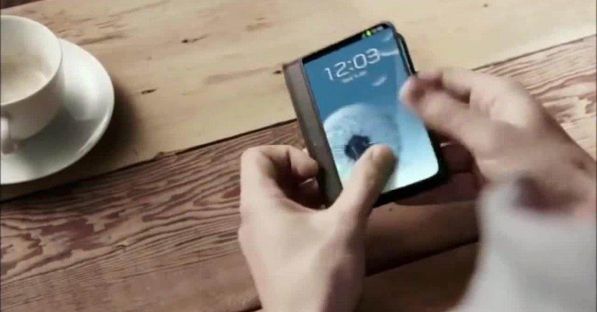 Samsung Project Valley: Smartphone mit faltbarem Display soll Anfang 2016 erscheinen [Gerücht]
