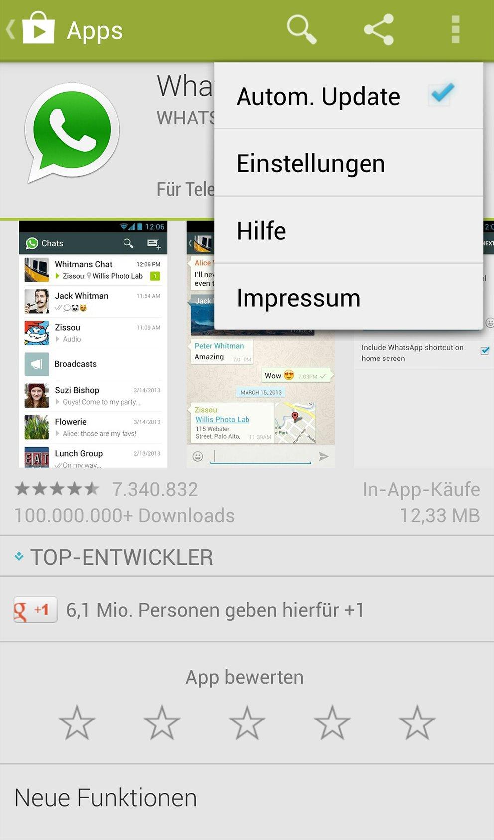 htc apps aktualisieren