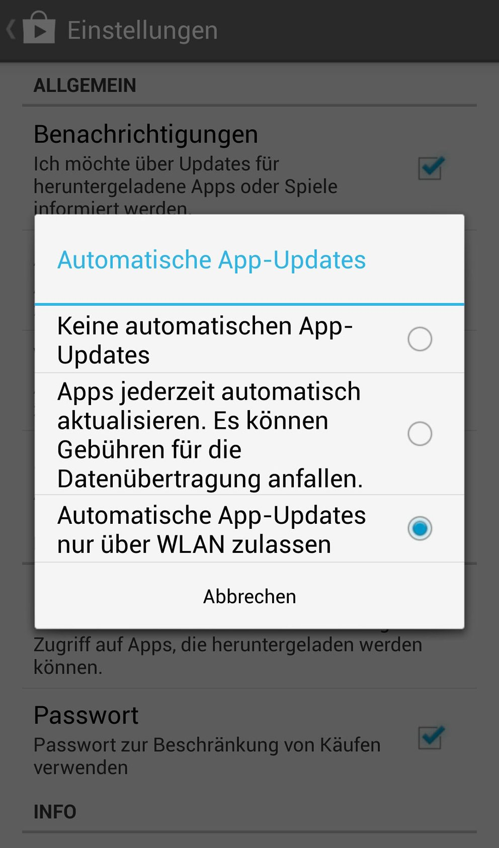 apps aktualisieren samsung