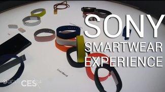 Sonys Smartwear Experience ist mehr als bloß ein Fitness-Tracker (CES 2014)