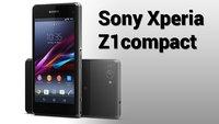 Sony Xperia Z1compact offiziell vorgestellt: Kleines Smartphone ganz groß!