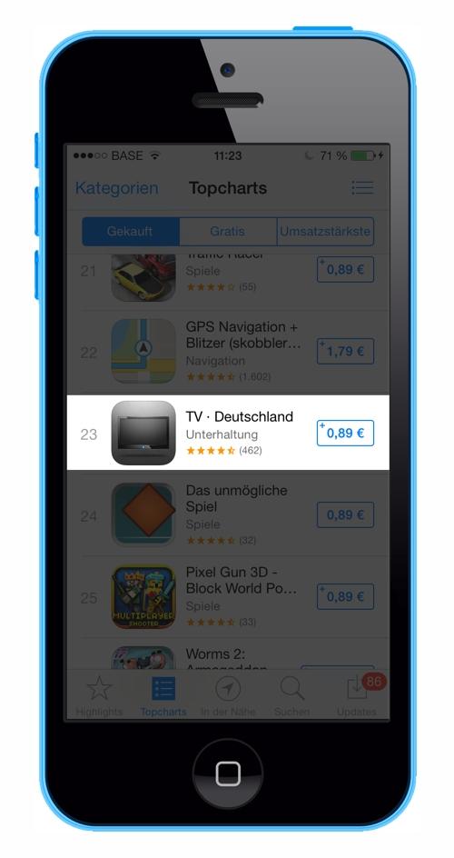 Tv App Deutschland