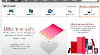 Apple TV: Eigene Kategorie im Apple Store - Gerüchte um neue Funktionen