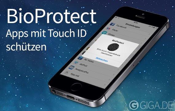 BioProtect: Apps mit Touch ID schützen (Cydia)