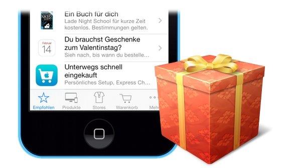 Apple Store verschenkt Buch im Wert von 9,99 Euro
