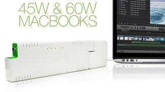 Zusatzakku für MacBook: ChugPlug spendet bis zu 4 Stunden mehr Strom (Update: Jetzt verfügbar!)