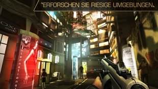 Deus Ex – The Fall: Grafisch imposanter Stealth-Shooter für Android erschienen