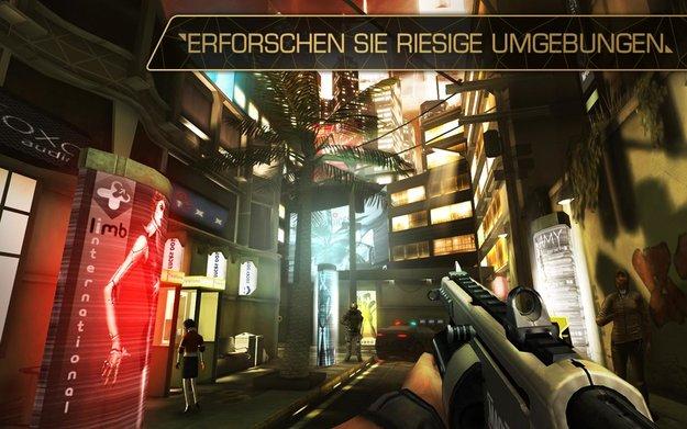 Deus Ex – The Fall: Grafisch imposanter Stealth-Shooter für Android erschienen