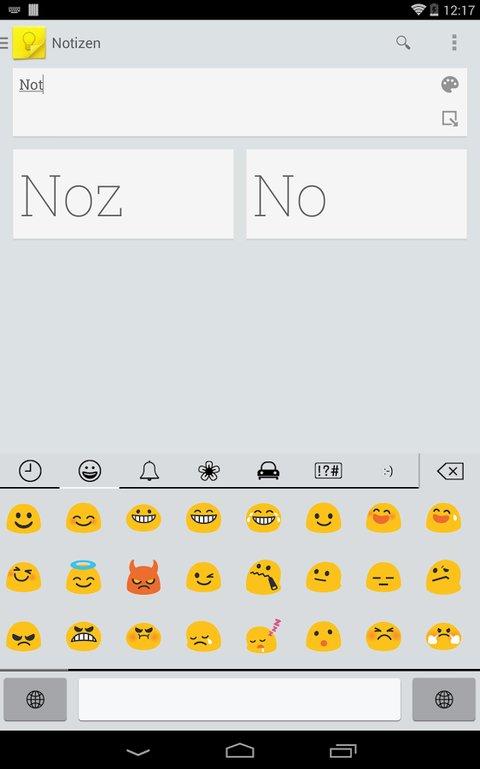 Emoji für Android