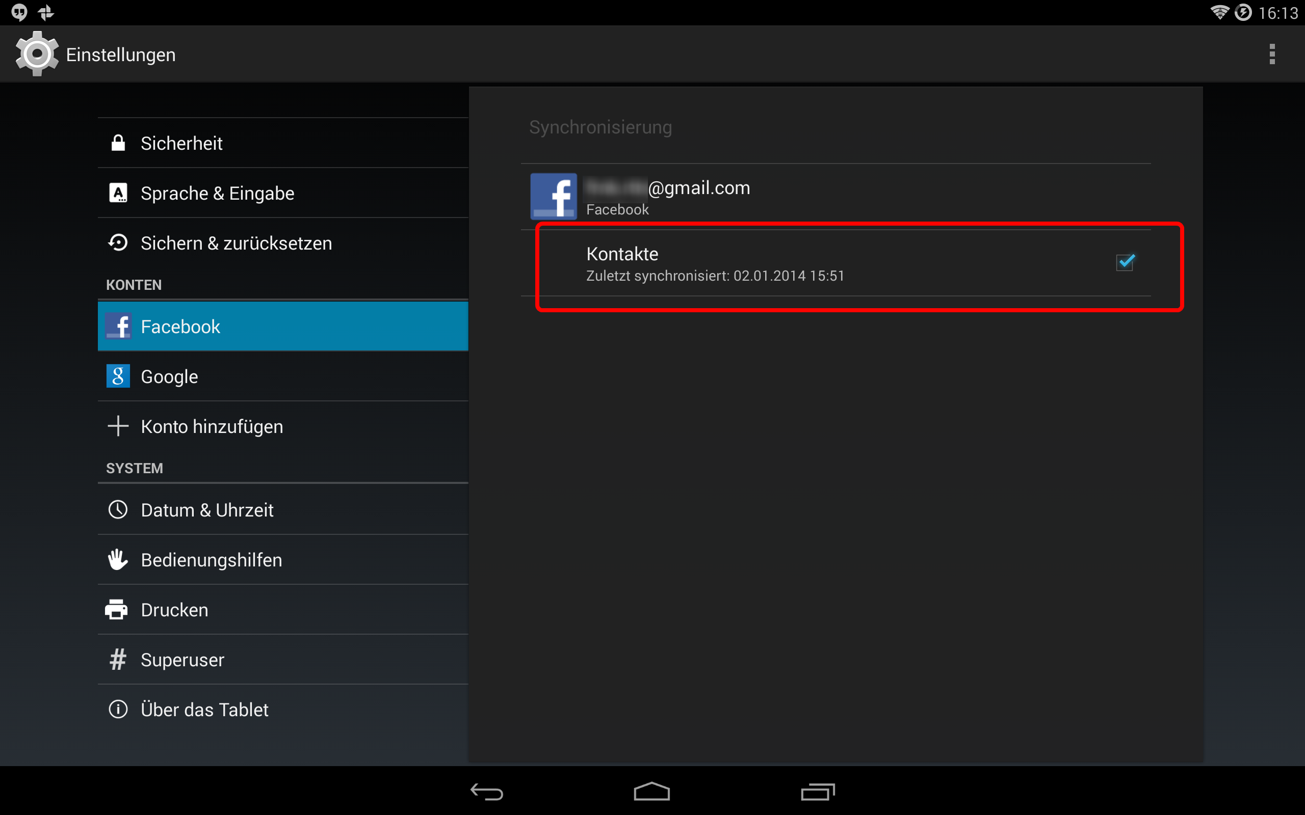 Facebook für Android: Kontakte-Synchronisierung aktivieren - so gehts
