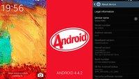 Galaxy Note 3: Android 4.4.2 geleakt! Sogar mit Highspeed Download