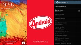 Galaxy Note 3: Android 4.4.2 geleakt! Sogar mit Highspeed Download