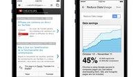 Google Chrome für iOS: Neue Version bringt Datenkompression