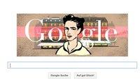 Doodle zu Simone de Beauvoir: Das zeigt Google heute