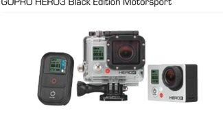 GOPRO HERO 3 Black Edition Motorsport für 299 € bei Saturn (statt 330 €)