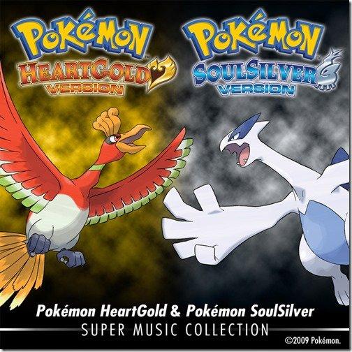 Pokémon: Music Collection zu HeartGold / SoulSilver bei iTunes erhältlich