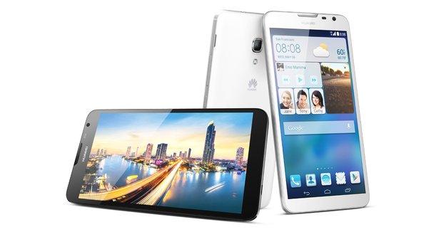 Huawei Ascend Mate 2: Phablet mit 4.050 mAh-Akku vorgestellt, lädt andere Geräte auf [CES 2014]