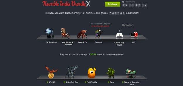Humble Indie Bundle X: Um drei neue Spiele erweitert