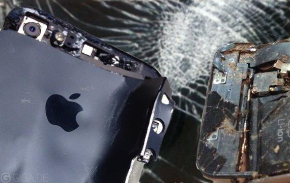 20 krasse iPhone-Schäden: Von der unfähigen Freundin bis zum Mähdrescher