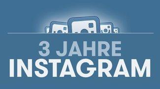 3 Jahre Instagram: Die interessantesten Fakten im Überblick (Ingfografik)