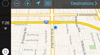 iOS im Auto: Neue Screenshots aufgetaucht
