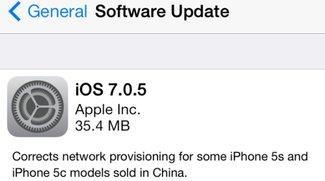 iOS 7.0.5 für iPhone 5s und iPhone 5c veröffentlicht (Jailbreak noch möglich)