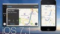 iOS 7 im Auto: Erstmals im Video zu sehen (Update: iOS 7.1)