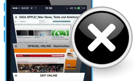 iOS 7: Alle Tabs in Safari auf einmal schließen (Tipp)