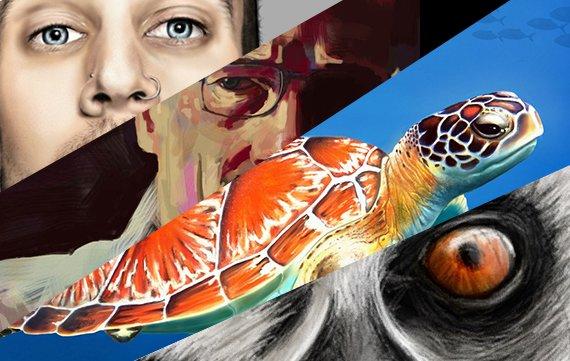 iPad-Malerei: Diese 6 Tablet-Künstler ziehen euch die Schuhe aus
