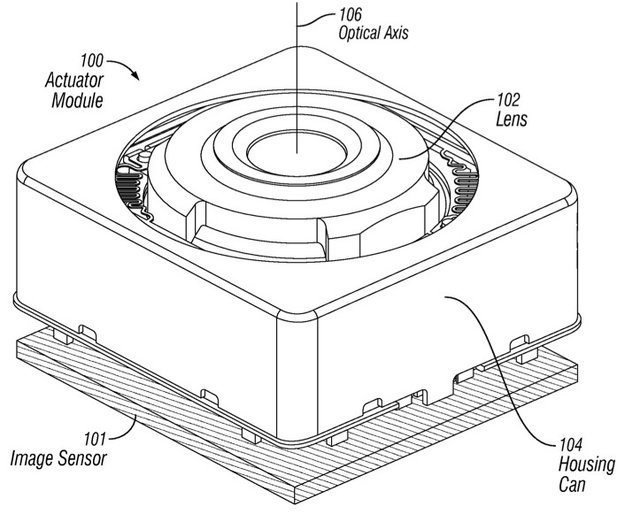 iPhone: Apple-Patentantrag beschreibt optische Bildstabilisation