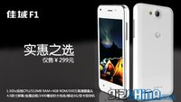 JiaYu F1: Chinesisches Dual SIM- und Dual Core-Smartphone kostet nur 36 Euro