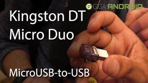 CES 2014: Kingston DT Micro Duo - Ein MicroUSB-to-USB Flash Drive