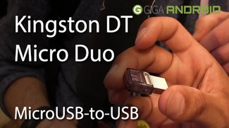 CES 2014: Kingston DT Micro Duo - Ein MicroUSB-to-USB Flash Drive